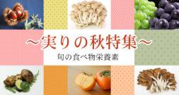 食欲の秋! 季節の実りいろいろ~果実&きのこ&木の実のお話~