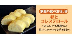 行楽シーズンにつきもののお弁当。人気の卵は悪役か?~コレステロールのお話~
